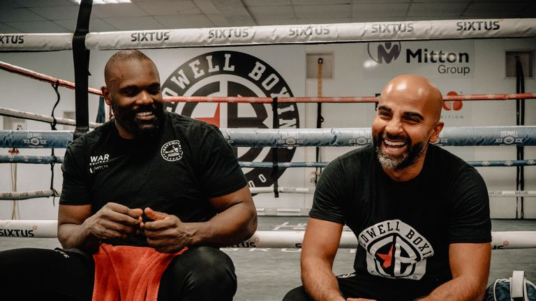 Coldwell has previously trained world champions David Haye, Tony Bellew and Jamie McDonnell