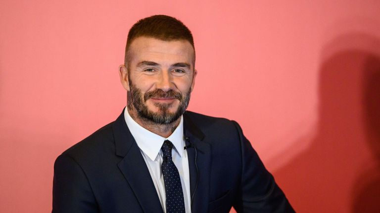 David Beckham owns 10 per cent of Salford City along with his Manchester United Class of 92 team-mates