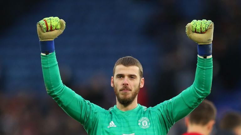 David de Gea's future at Old Trafford is still uncertain