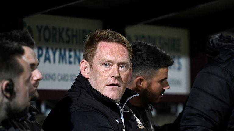 Hopkin left Bradford in February