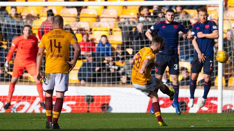 David Turnbull strikes from distance to win the game for Motherwell late on