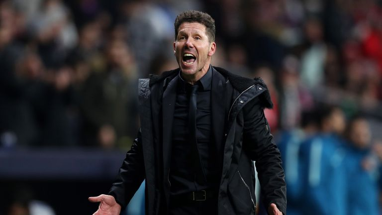 Diego Simeone's side had conceded only six goals in seven Champions League games this season and 17 in 27 in La Liga before this game