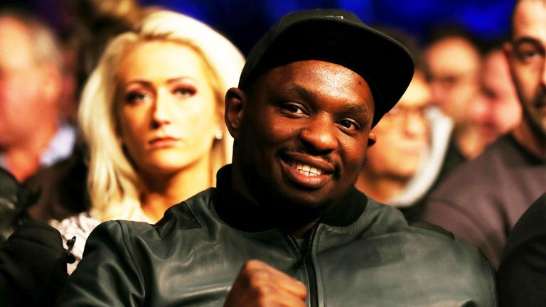Dillian Whyte has switched attention to an April fight at The O2