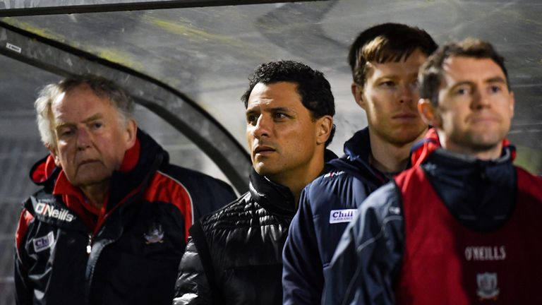 Doug Howlett was in the Cork dugout on Saturday night