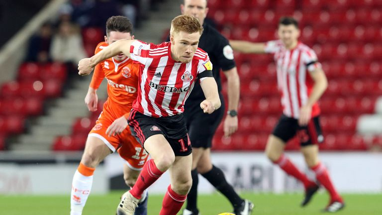 Watmore was on form for Sunderland against Blackpool on Tuesday