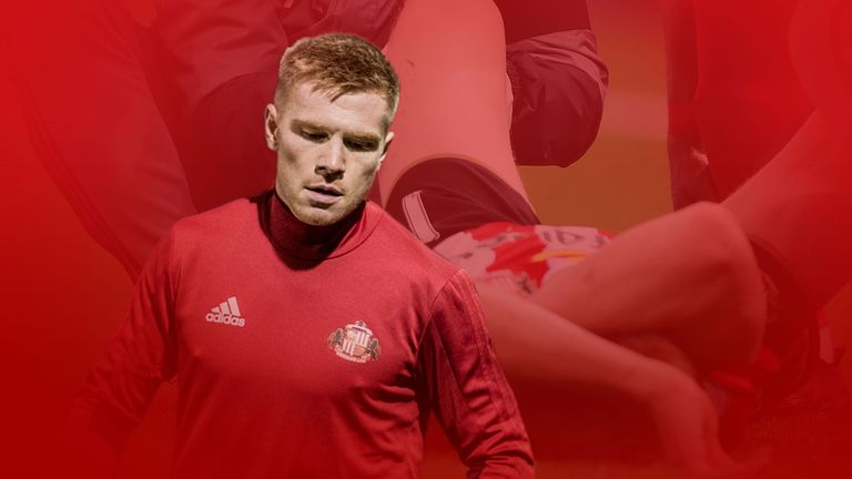 Sunderland's Duncan Watmore has battled back from injury again [Credit: SAFC]