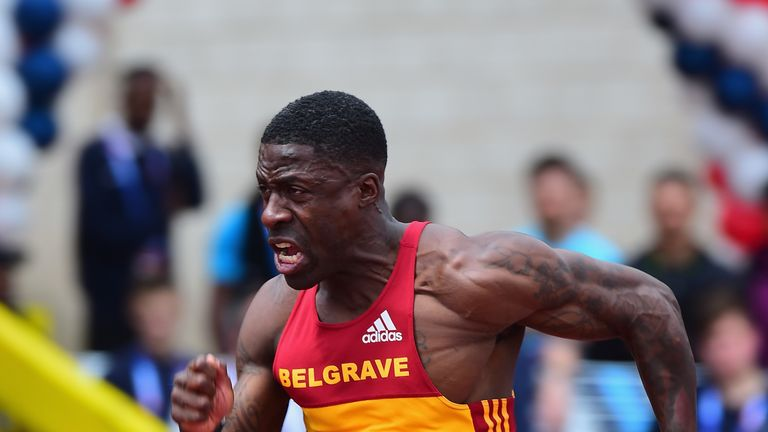 Dwain Chambers is returning to competition this weekend