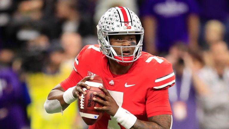 Boyhood New York Giants fan Dwayne Haskins could become their quarterback of the future