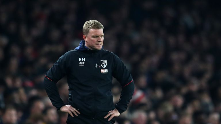 Eddie Howe must see an improvement in his side's away form