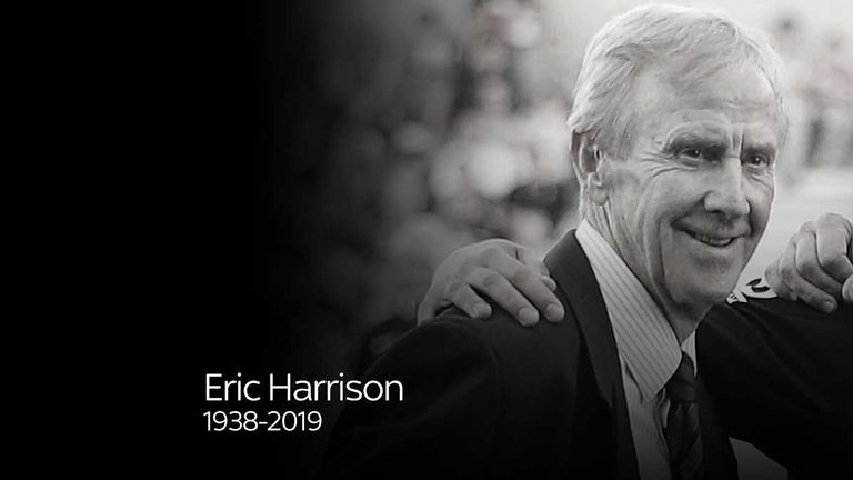 Eric Harrison has passed away at the age of 81