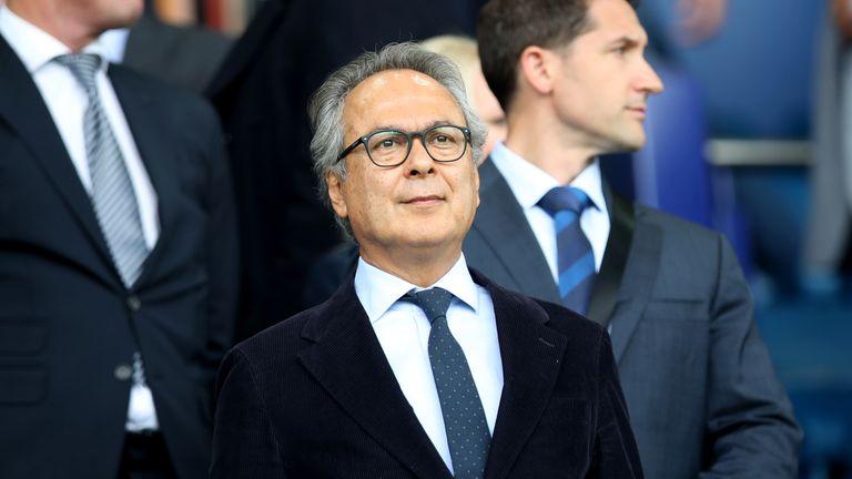 Everton majority shareholder Farhad Moshiri is on to his fourth full-time manager