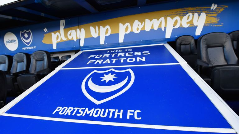 Fratton Park during the Emirates FA Cup Fourth Round match between Portsmouth and AFC Bournemouth at Fratton Park on January 30, 2016 in Portsmouth, England.