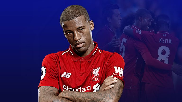 Georginio Wijnaldum has impressed for Liverpool so far this season