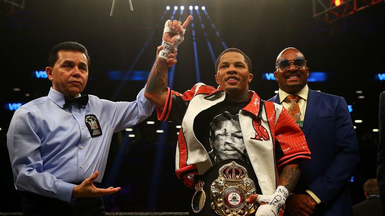 Gervonta Davis knocks our Hugo Ruiz in first round to retain title