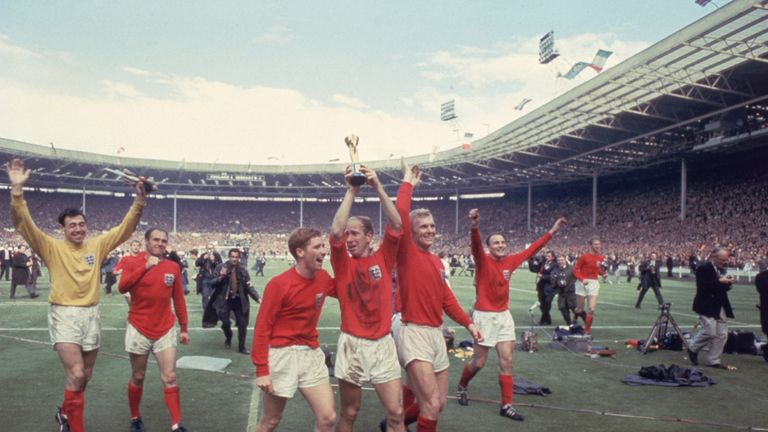 Banks won the World Cup with England in 1966