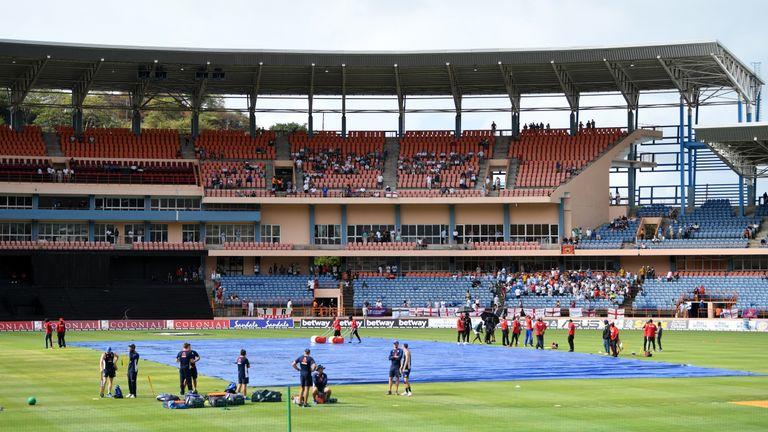 England's third ODI against Windies in Grenada delayed due to rain