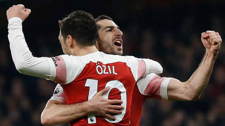 Arsenal face Tottenham in the North London derby
