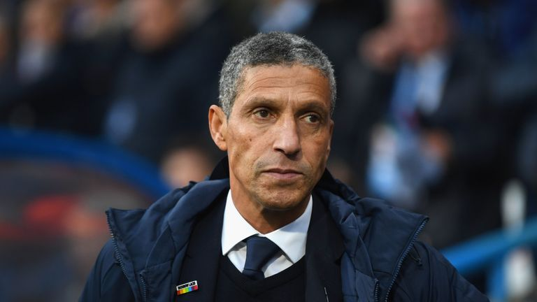 Brighton sacked Chris Hughton on Monday