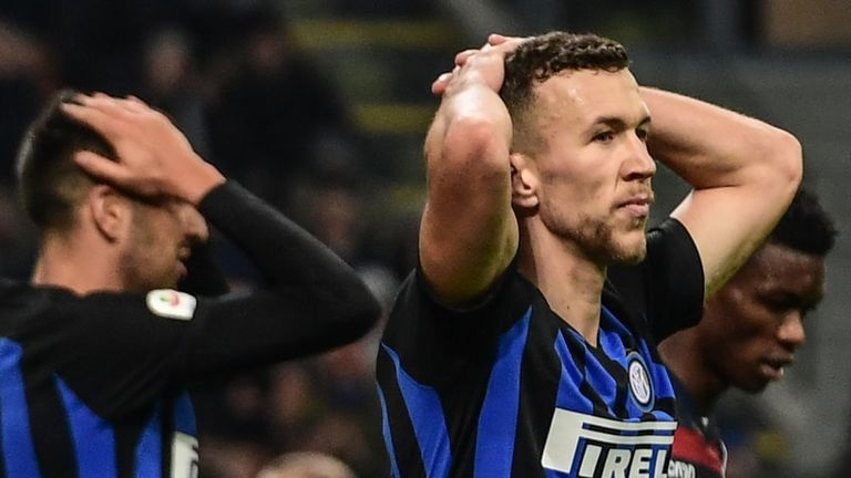 Inter Milan lost again in Serie A on Sunday