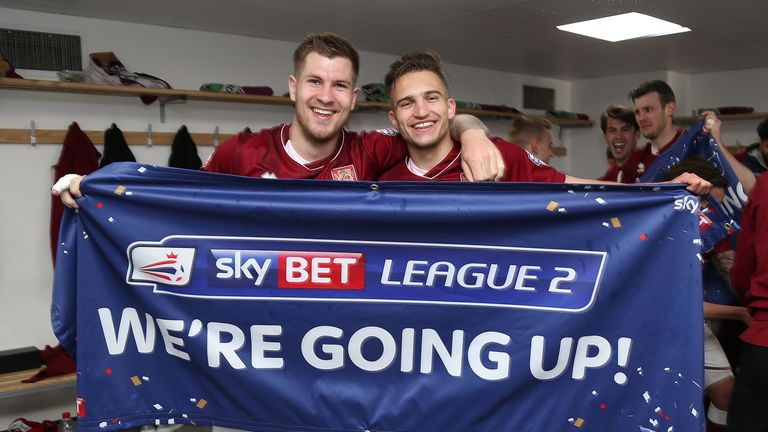 Collins has won four promotions from League Two, including with Northampton in 2016