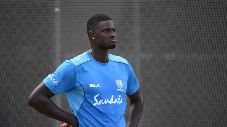 Jason Holder will miss the third Test due to a ban for Windies' slow over rate