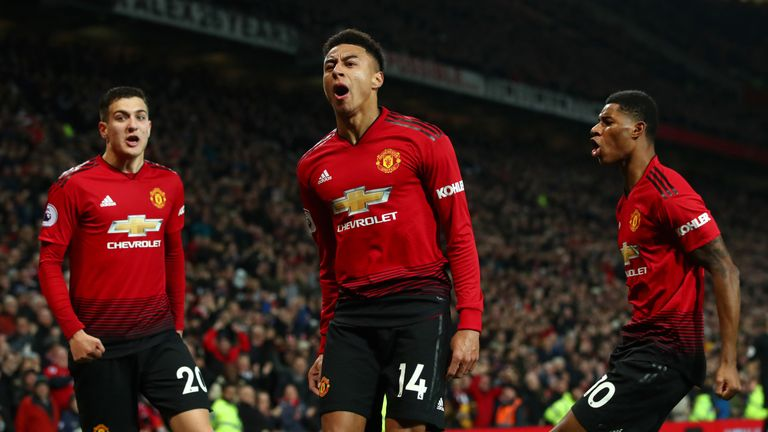 Marcus Rashford and Jesse Lingard picked up over 4000 minutes combined for Manchester United