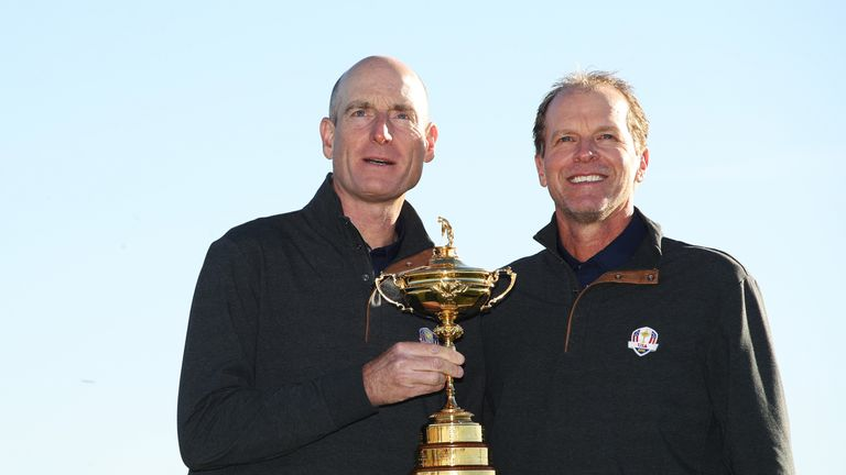 Furyk obvious choice for vice-captain - Stricker