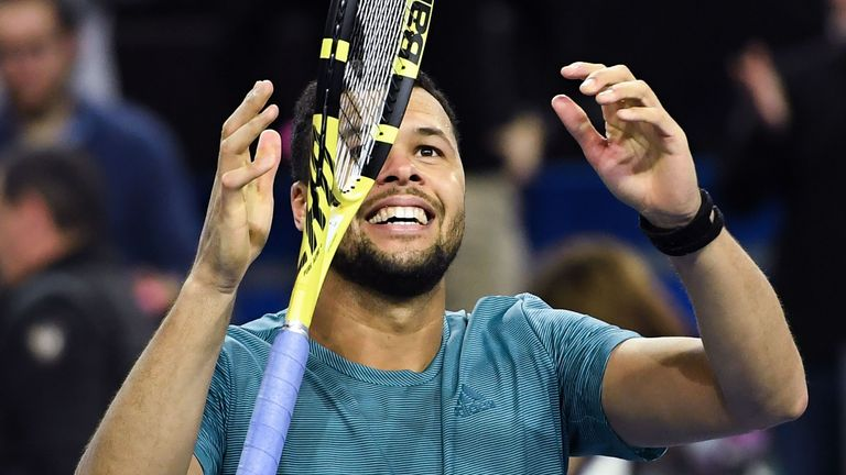 Jo-Wilfried Tsonga won the Montpellier title