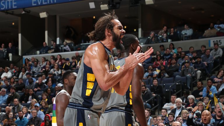 Joakim Noah had 19 points and 14 rebounds for the Grizzlies