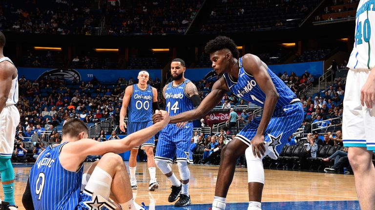 Jonathan Isaac has helped pull the Magic from the floor during their recent fine run