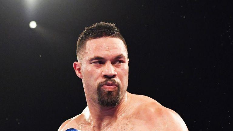Joseph Parker had been holding talks over a Derek Chisora fight