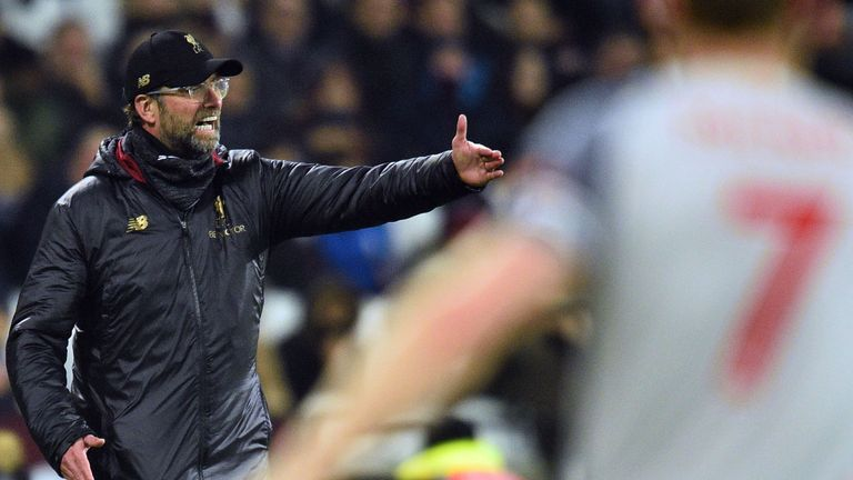 Jurgen Klopp's team have dropped four points in their last two outings