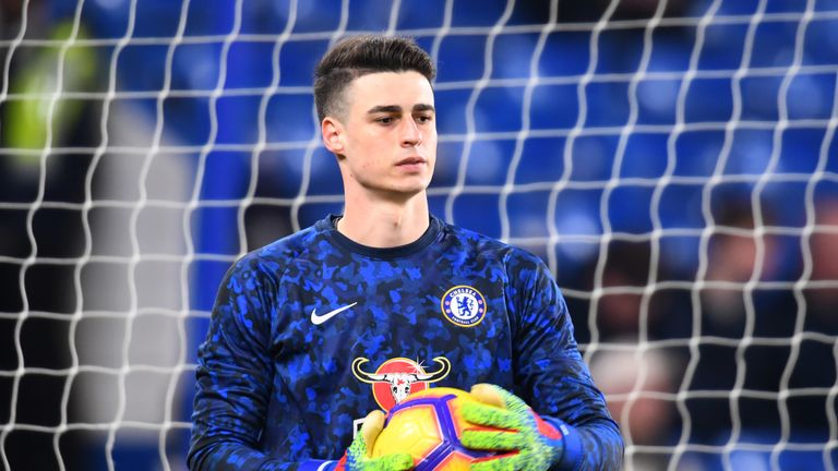 Kepa Arrizabalaga returned to the Chelsea starting line-up for the win over Fulham