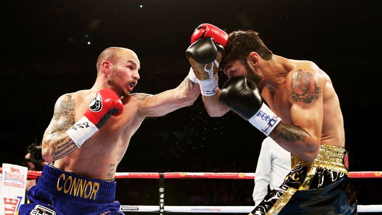 Kevin Mitchell floored WBC champion Jorge Linares only to suffer defeat in 2015