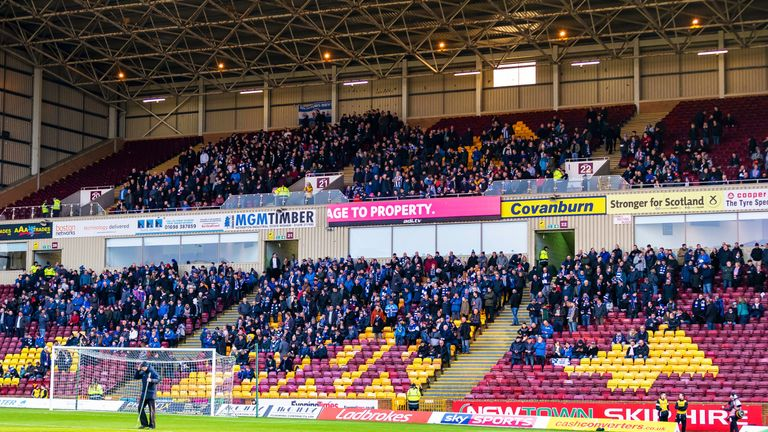 Killie's away following has grown with expectations since the upturn in fortunes under Clarke