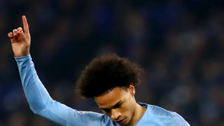 Leroy Sane made a scoring return in his first game against Schalke since leaving in 2016