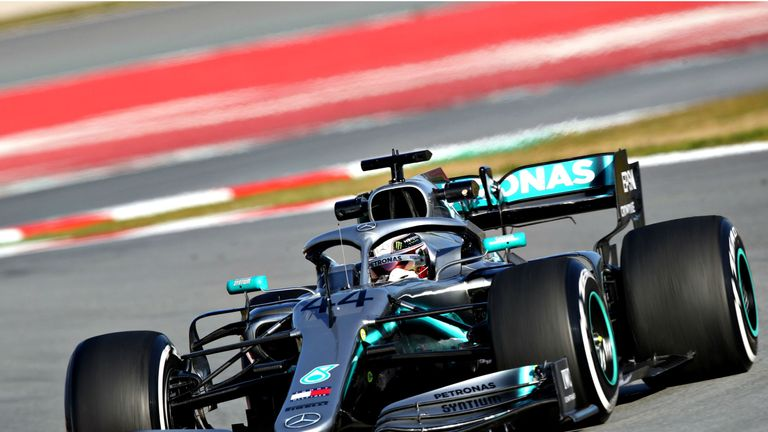 Lewis Hamilton had the morning off for Mercedes, but completed 81 laps in the afternoon alone.