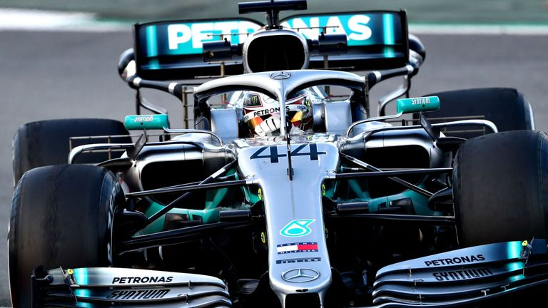 Lewis Hamilton completed 74 laps in the morning session as Mercedes ran long