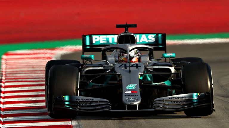 Lewis Hamilton was second-bottom on the timesheets. How often will we say that in F1 2019...