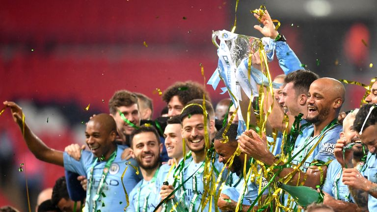 Manchester City won the Carabao Cup after a penalty shootout