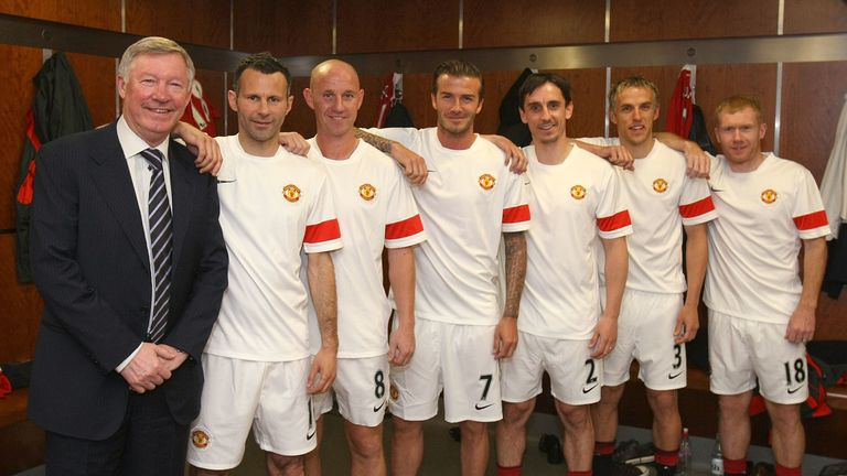 Class of 92 included Ryan Giggs, Gary Neville, Paul Scholes, Nicky Butt and David Beckham