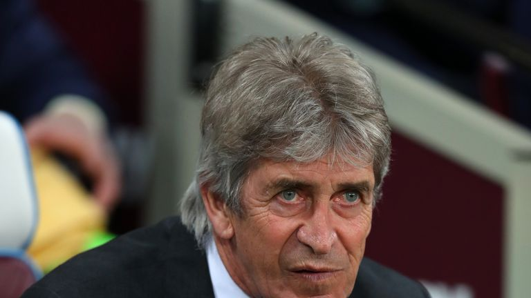 Manuel Pellegrini's side are four points behind seventh-place Wolves ahead of the weekend's fixtures