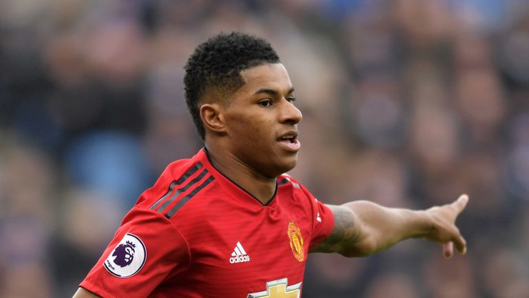 Marcus Rashford has been in incredible form since Solskjaer took charge