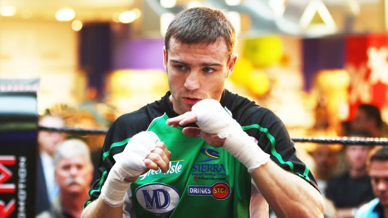 Matthew Macklin's ideal location was the Trinity Boxing Gym