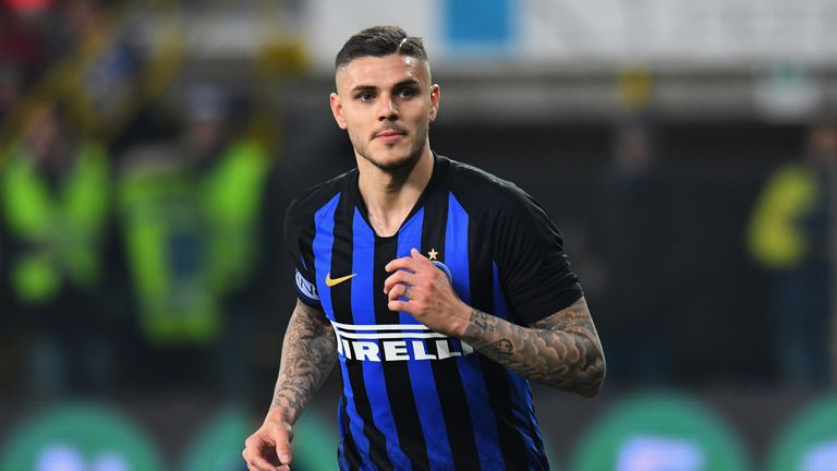 Mauro Icardi could be sold to help finance Inter's move for Romelu Lukaku