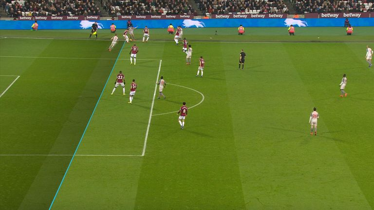 James Milner appeared to be offside in the build up to Liverpool's opener