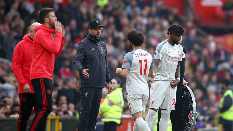 Klopp believes the pressure can be a positive thing for the Reds