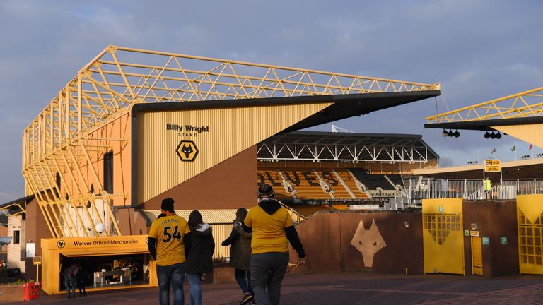 Work over the summer will see rail seating installed in the Sir Jack Hayward Stand at Molineux