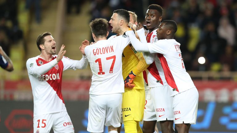 Ligue 1 round-up: Monaco claim vital win in relegation battle