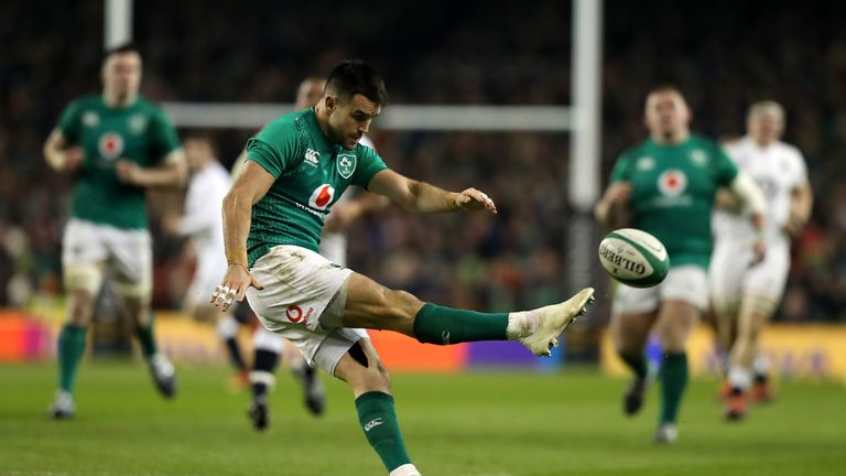 Ireland have looked to Conor Murray's box-kicking with increasing regularity